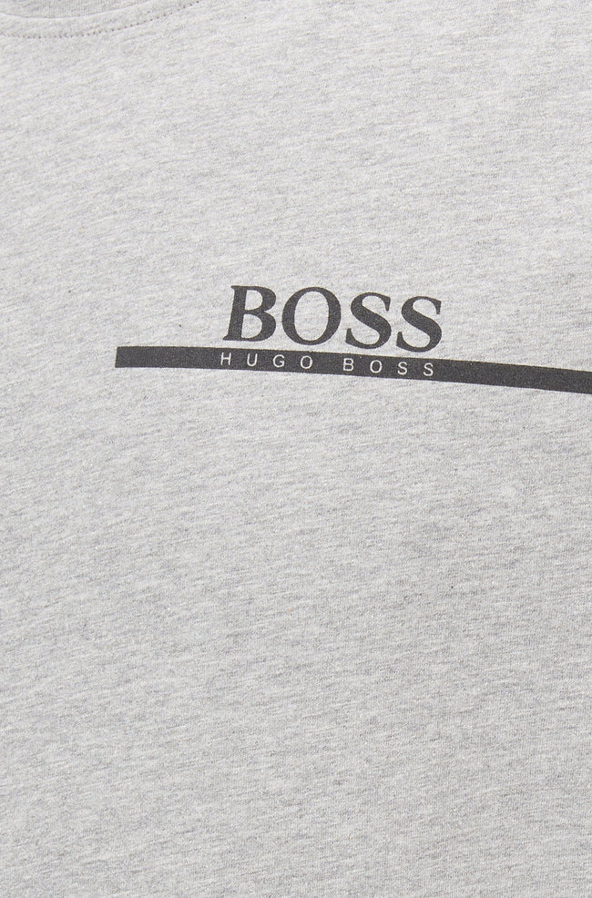 BOSS Bodywear T-Shirt RN Relaxed Fit in Light Grey T-Shirts BOSS