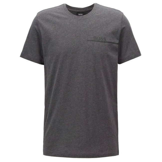 BOSS Bodywear T-Shirt RN Relaxed Fit in Dark Grey T-Shirts BOSS