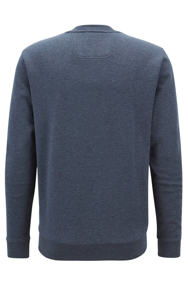 BOSS Athleisure Crew Neck Salbo 1 Sweatshirt in Dark Blue