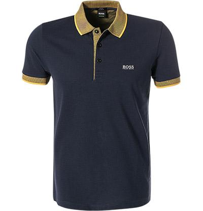BOSS Athleisure Slim Fit Paule 2 Polo Shirt in Navy Polo Shirts BOSS