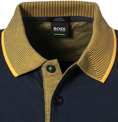 BOSS Athleisure Slim Fit Paule 2 Polo Shirt in Navy