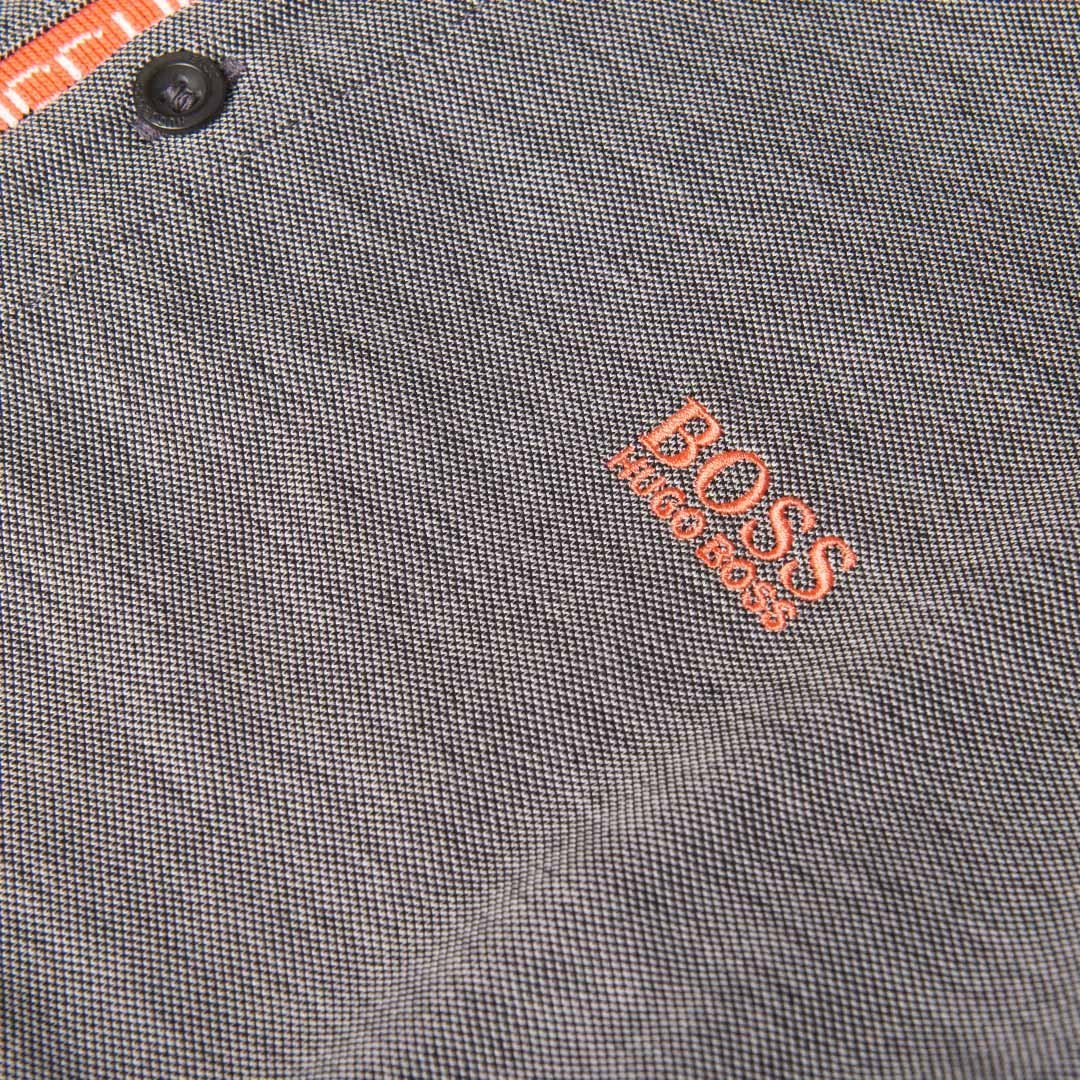 BOSS Athleisure Pleesy 4 Polo Shirt in Black