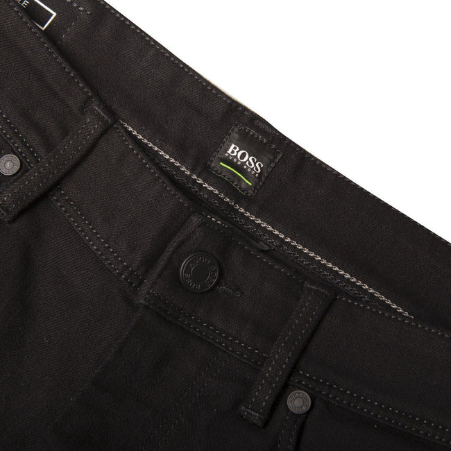 BOSS Athleisure Delaware BA-C Slim Fit Jeans in Black