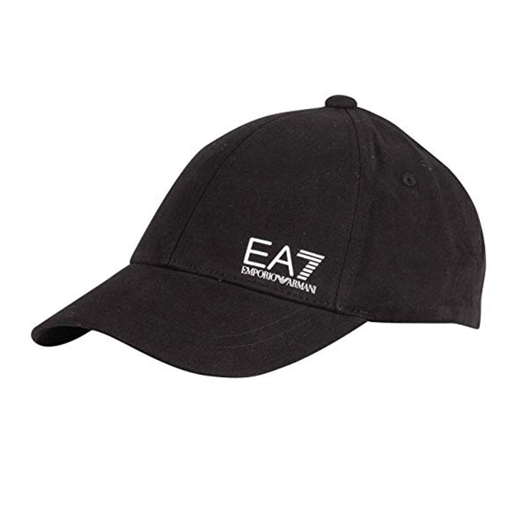 Emporio Armani EA7 Baseball Cap in Black