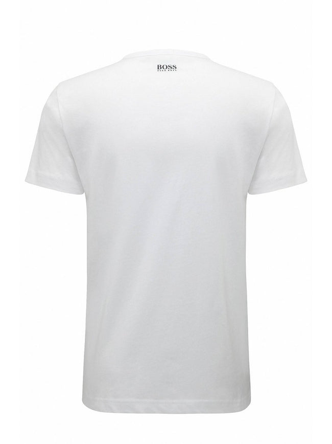BOSS Athleisure Tee 3 Regular Fit in White T-Shirts BOSS