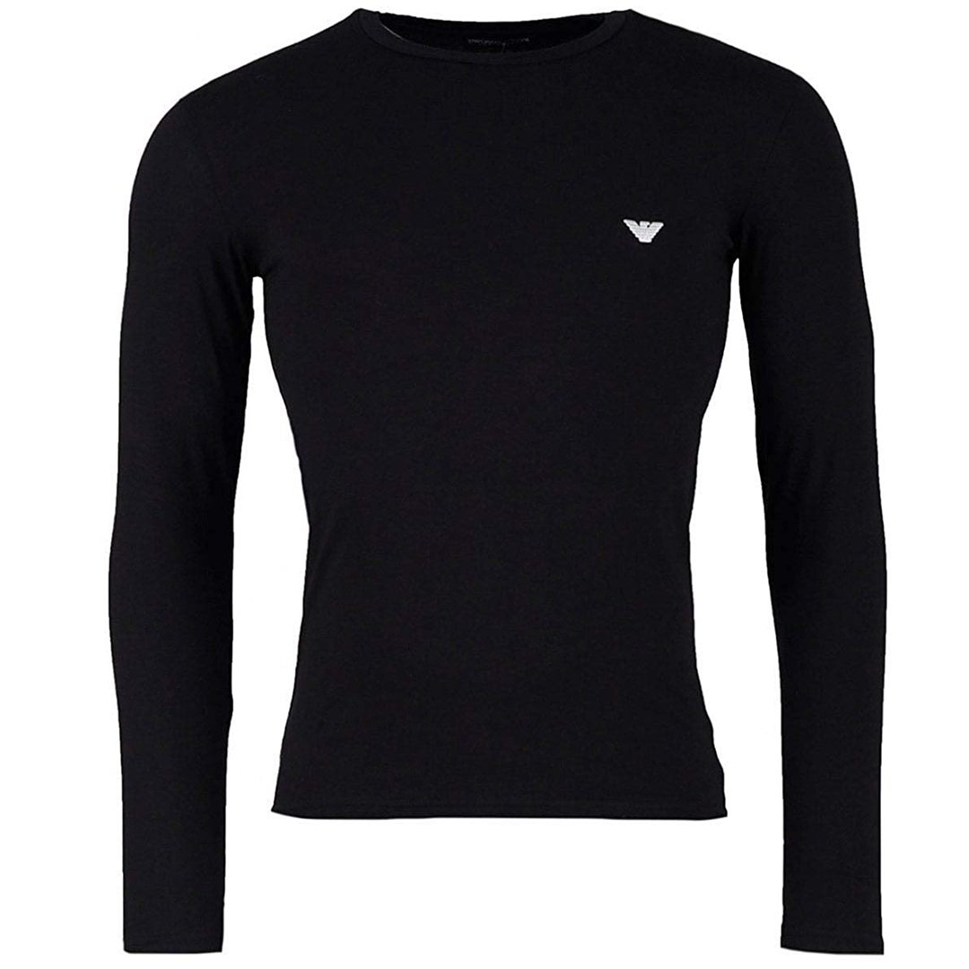 Emporio Armani Underwear Range Long Sleeve T-Shirt in Black