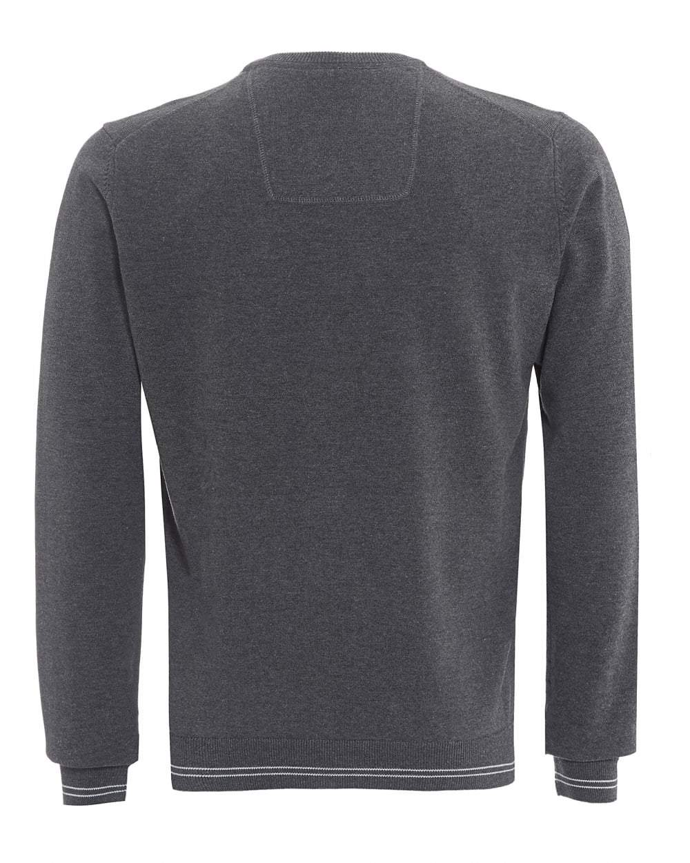 BOSS Athleisure Rime Regular Fit Sweatshirt in Grey