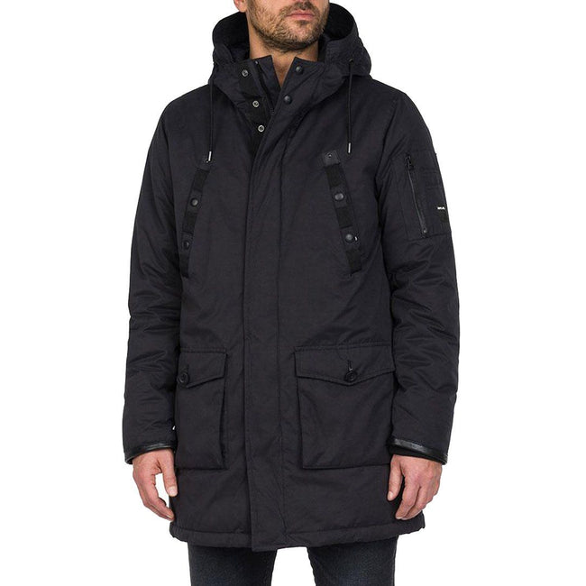 Replay Long Hooded Jacket