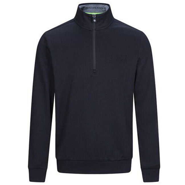 BOSS Athleisure 1/4 Zip Sweatshirt in Black