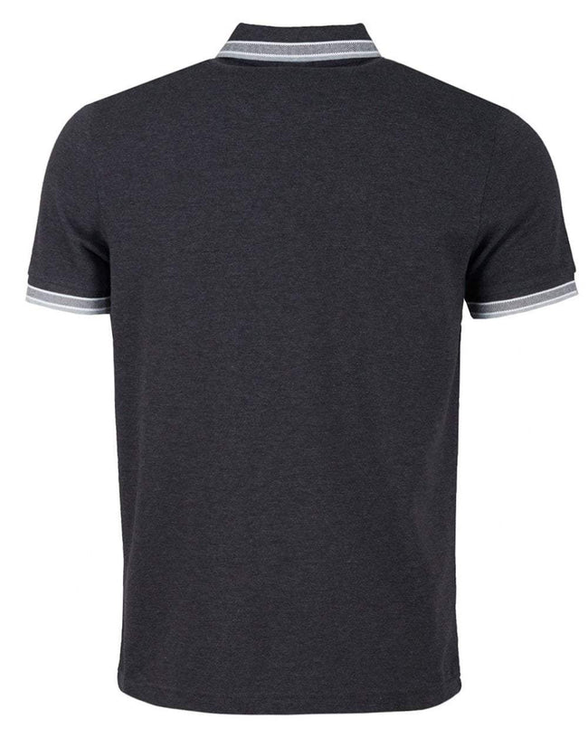 BOSS Athleisure Paddy Regular Fit Polo Shirt in Grey