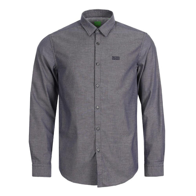 BOSS Athleisure C-Buster Regular Fit Shirt in Dark Blue