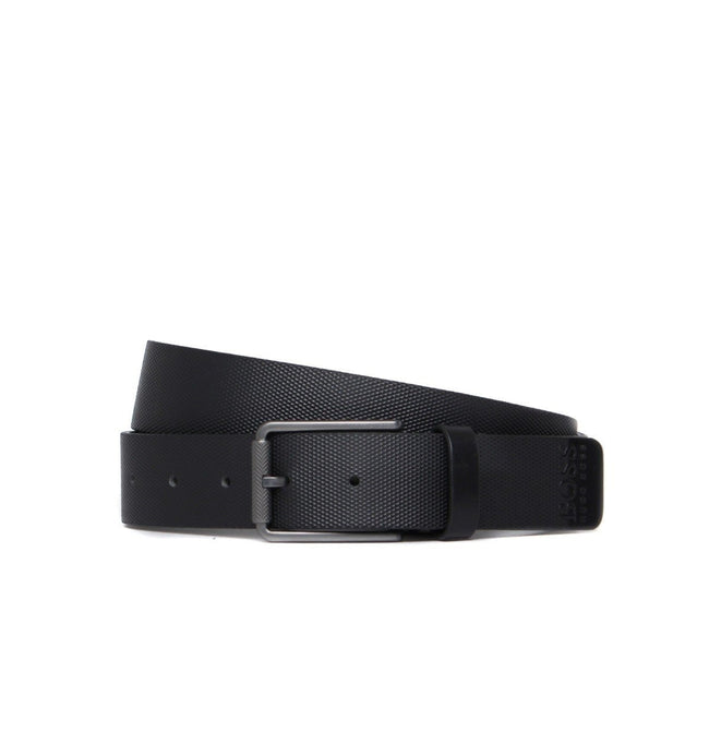 BOSS Athleisure Tily Leather Belt in Black