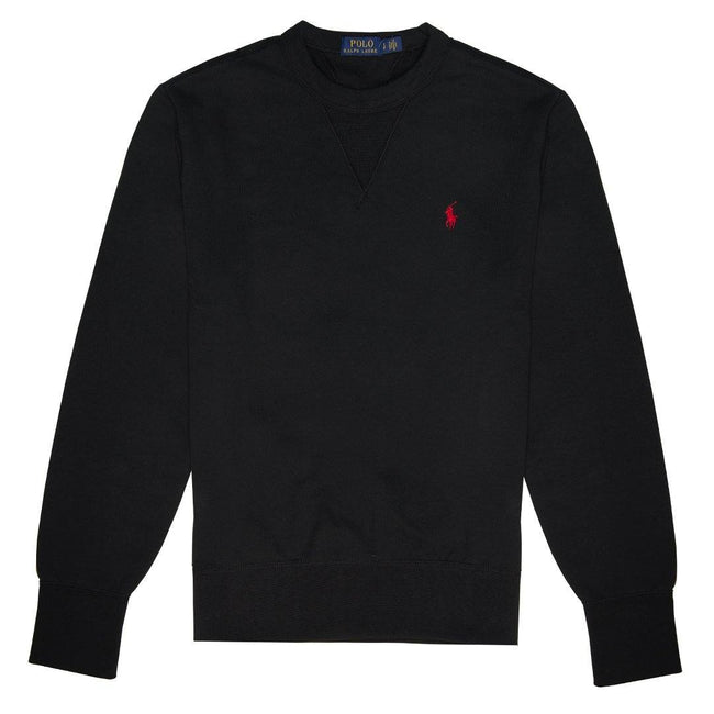 Ralph Lauren Slim Fit Sweatshirt in Black