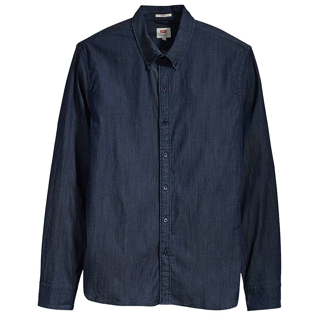 Levi's LS Pacific No Pocket Shirt in Indigo