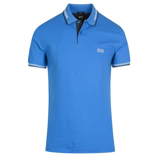 BOSS Athleisure Paul Slim Fit Polo Shirt in Blue