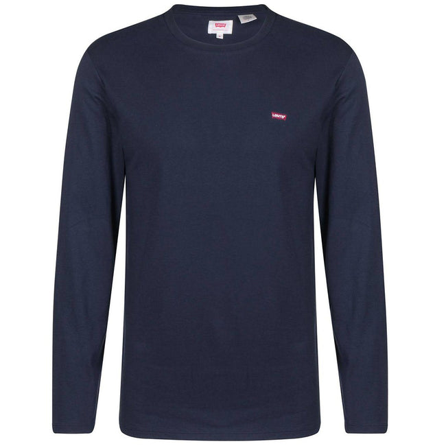 Levi's Long Sleeve Original Logo T-Shirt in Navy