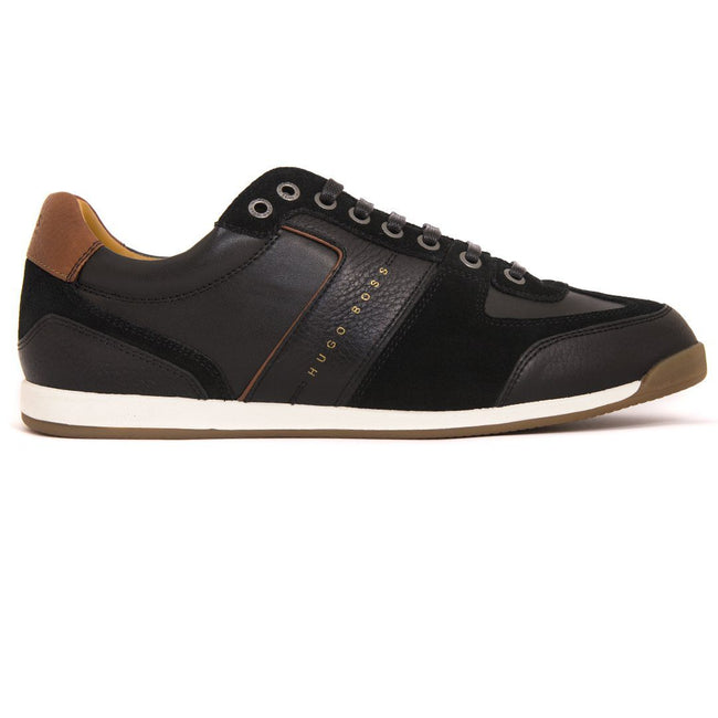 BOSS Athleisure Maze Lowp TBSD Trainers in Black