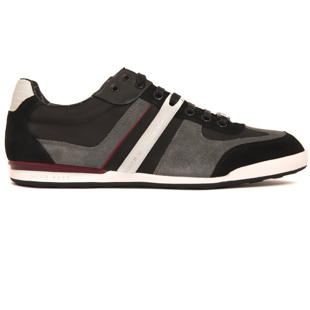 BOSS Athleisure Akeen Trainers in Open Grey