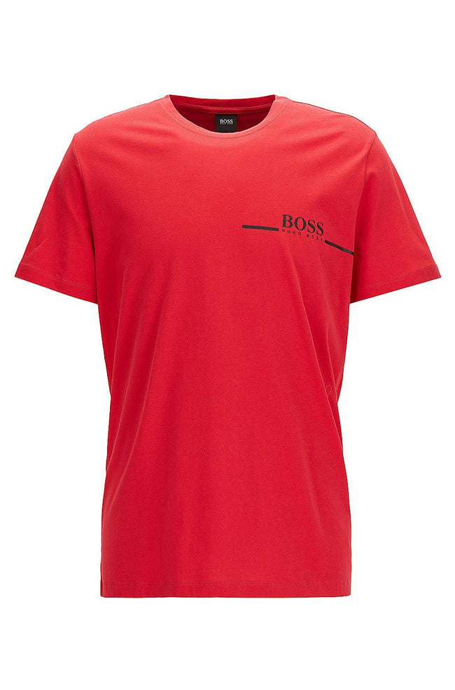 BOSS Bodywear T-Shirt RN Relaxed Fit in Red