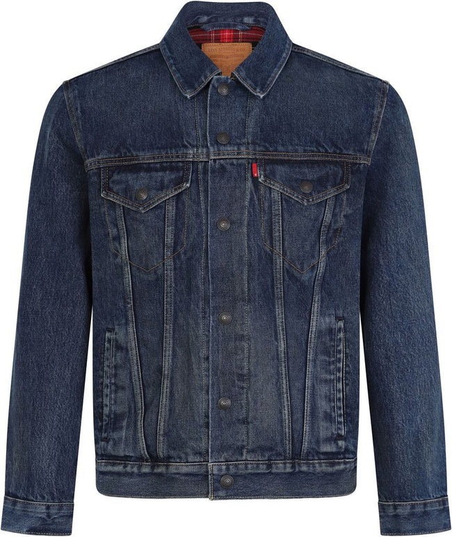 Levi's Lined Trucker Denim Jacket in Chewy Denim