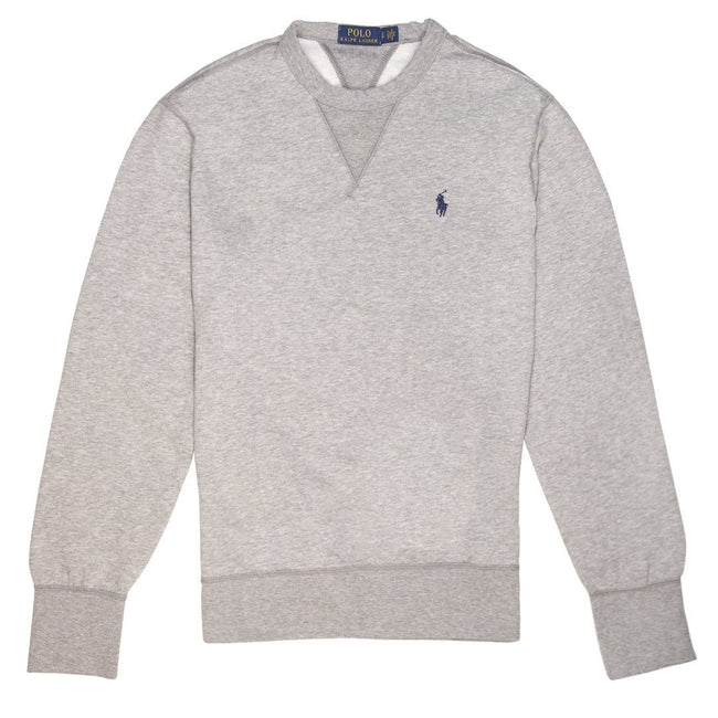 Ralph Lauren Slim Fit Sweatshirt in Grey Heather