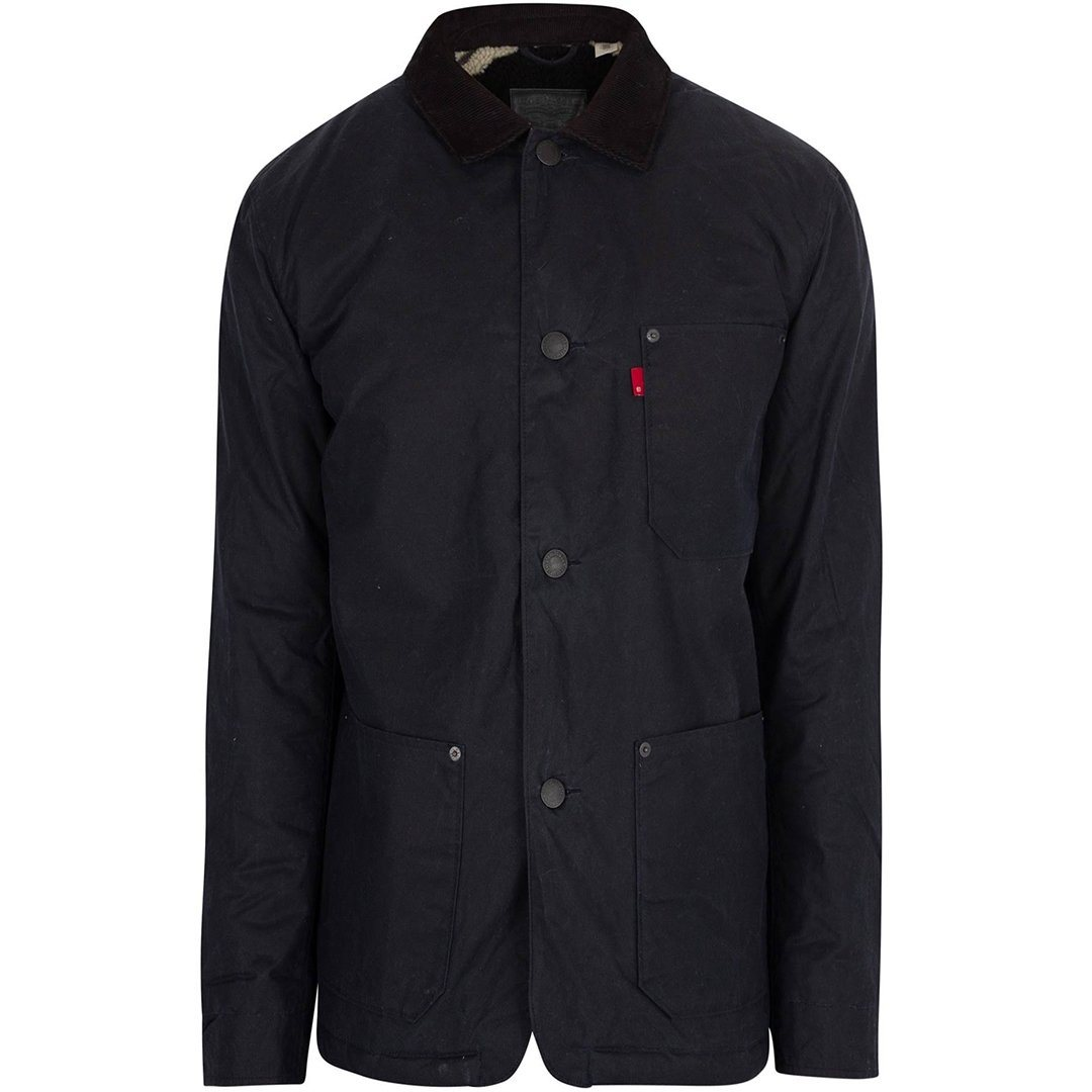Levi's Sherpa Engineers Jacket in Navy