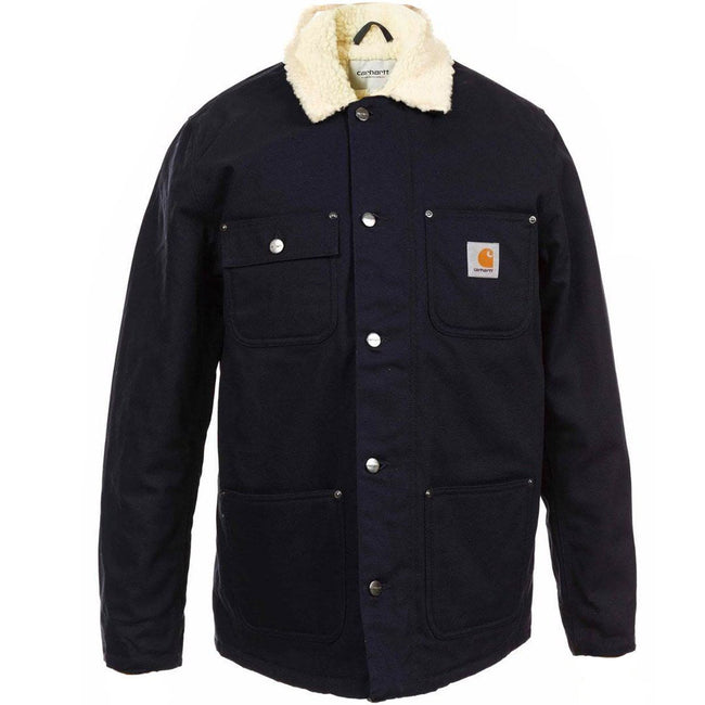 Carhartt WIP Fairmount Coat in Dark Navy