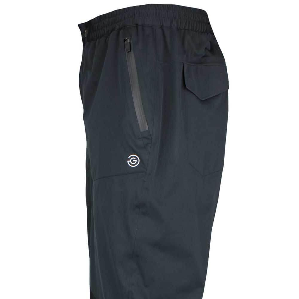 Galvin Green Axel Trousers C-Knit in Black