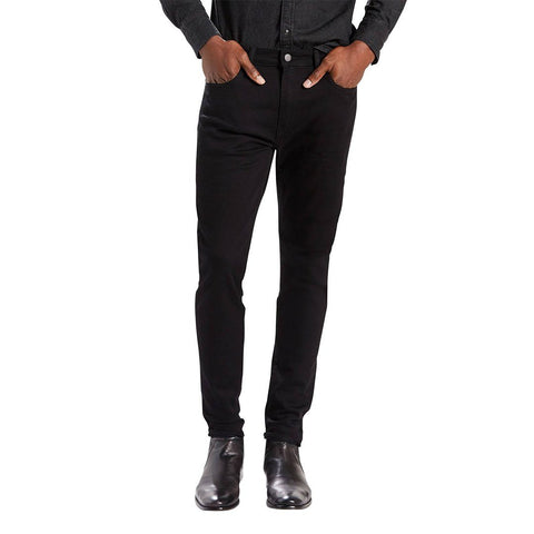 Levi's 512 Slim Tapered Fit Jeans in Nightshine Black Jeans Edwards Menswear