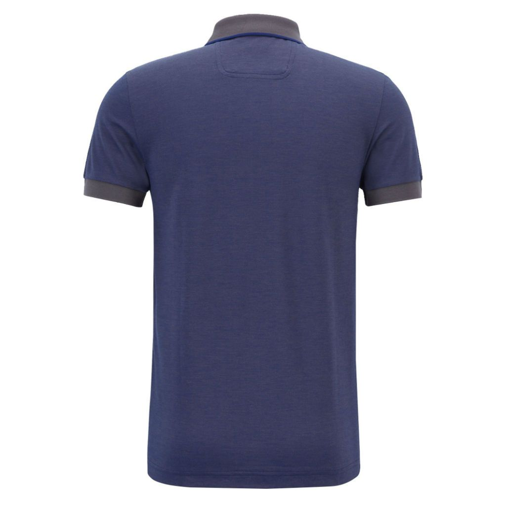 BOSS Paule 4 Slim Fit Polo Shirt in Dark Purple