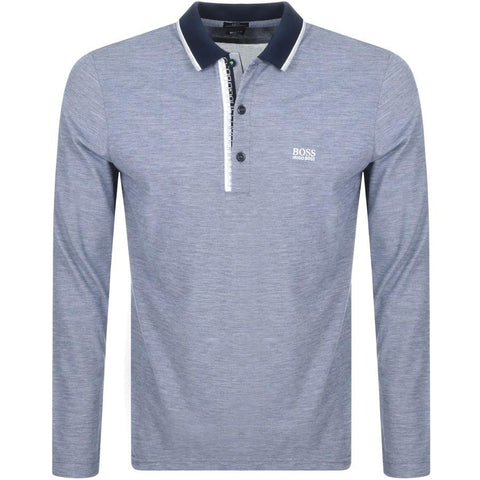 BOSS Athleisure Pleesy 4 Slim Fit Polo Shirt in Navy Polo Shirts BOSS
