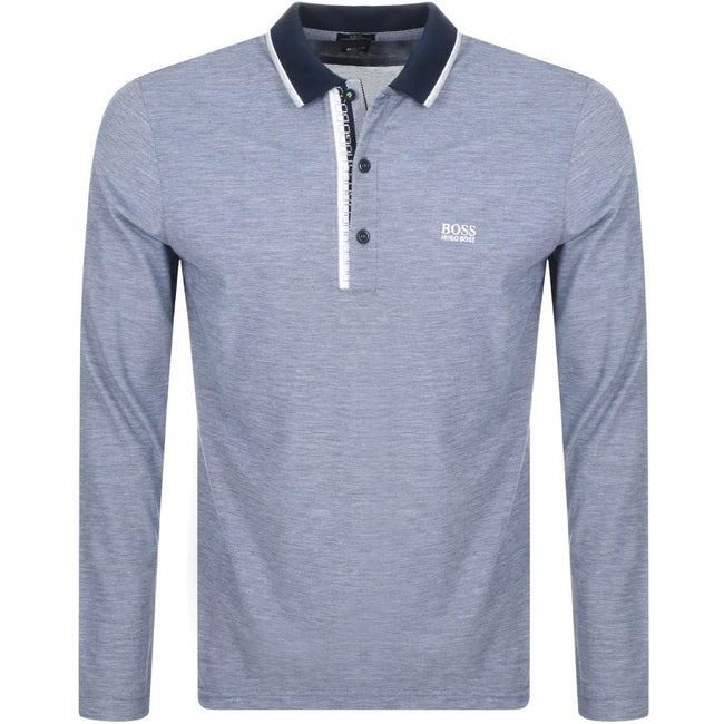 BOSS Athleisure Pleesy 4 Slim Fit Polo Shirt in Navy