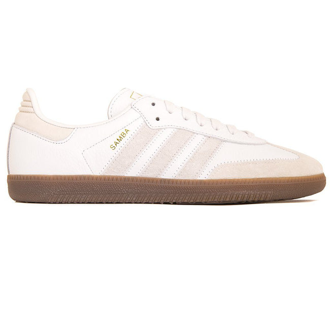 Adidas Samba OG FT BD7527 in Crystal White / Raw White / Gum