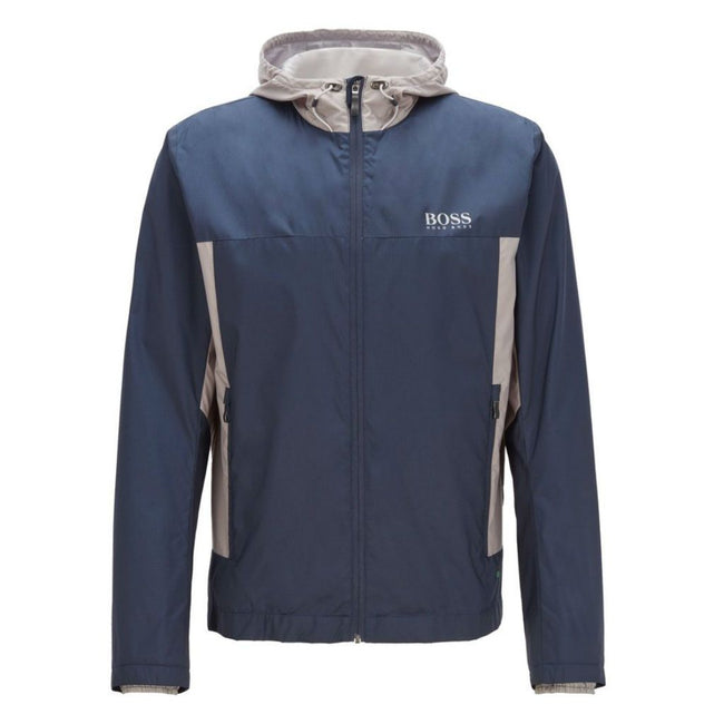 BOSS Athleisure Jeltech 2 Water Repellent Jacket in Navy
