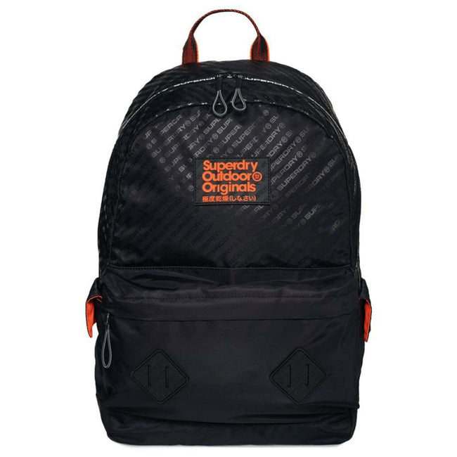 Superdry Hamilton Montana Backpack in Black