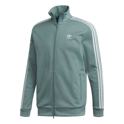 Adidas Beckenbauer TT DV1523 Track Jacket on Mint Green Jumpers adidas