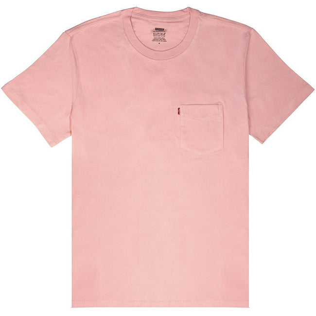 Levi's Pocket T-Shirt in Coral Blush