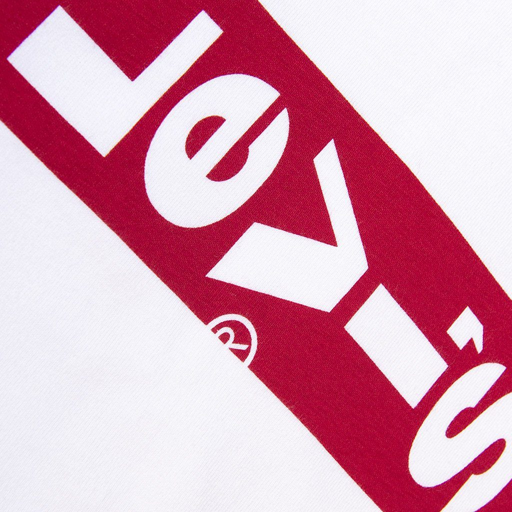 Levi's Long Sleeved Graphic T-Shirt in White