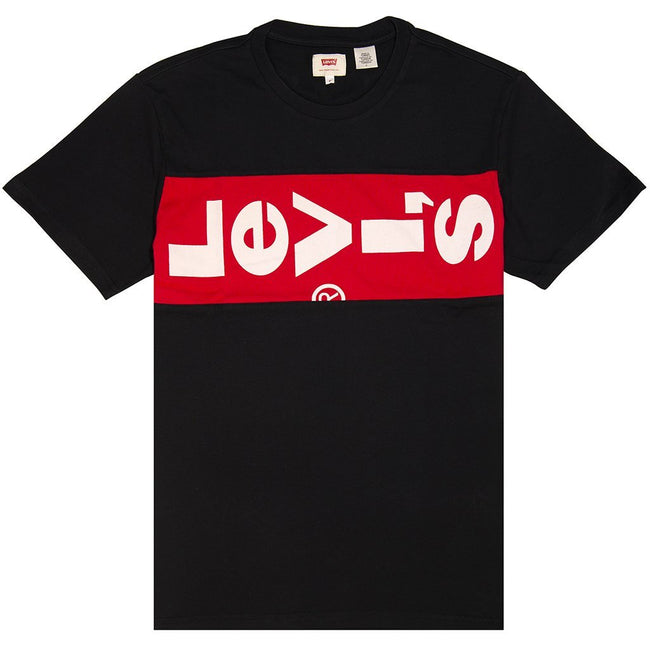 Levi's Block Logo Graphic T-shirt in Black