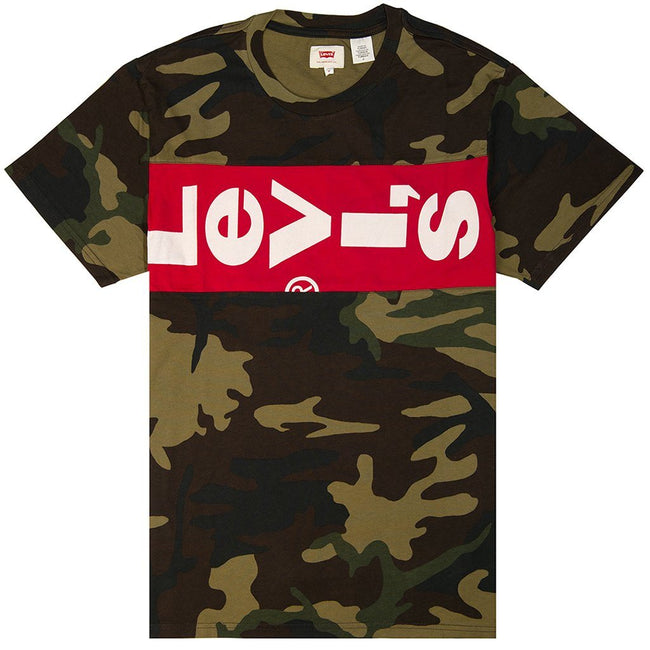 Levi's Block Graphic T-Shirt in Camo