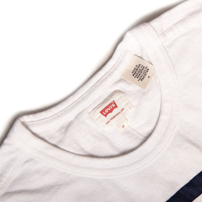 Levi's Mighty Made Taped T-Shirt in White