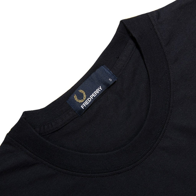 Fred Perry M5574 Colour Block T-Shirt in Navy