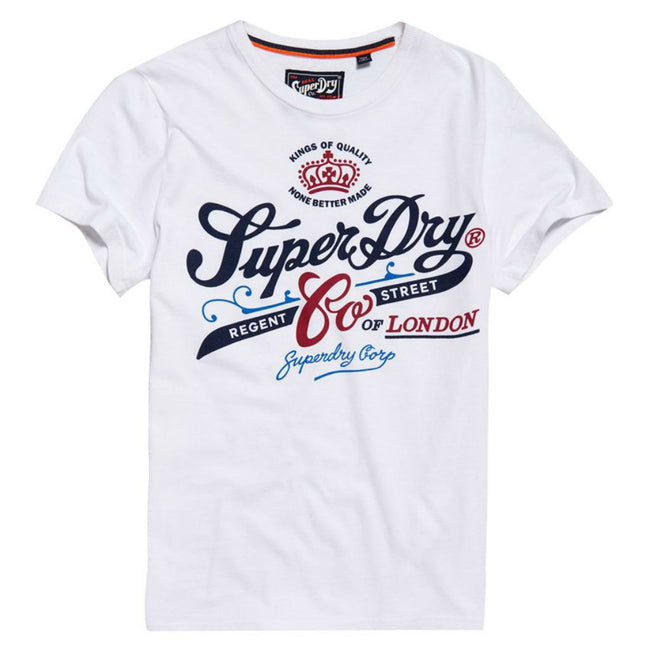 Superdry Regent Street Flagship T-Shirt in White