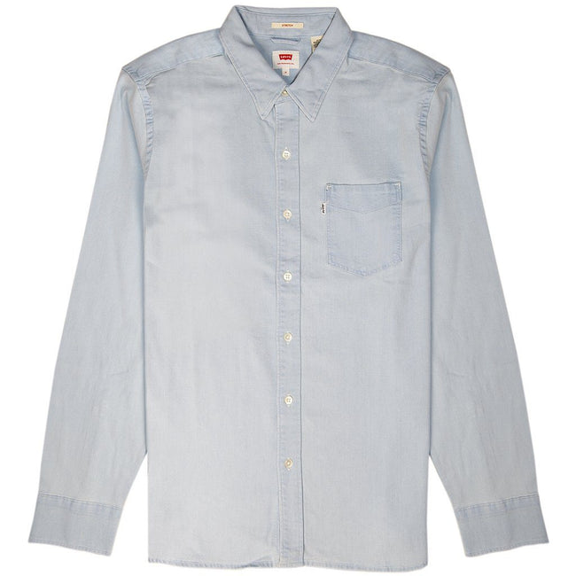 Levi's Sunset Pocket Denim Shirt in Light Blue