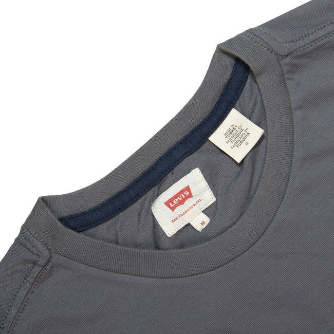Levi's Colourblock T-Shirt in Grey / White / Navy