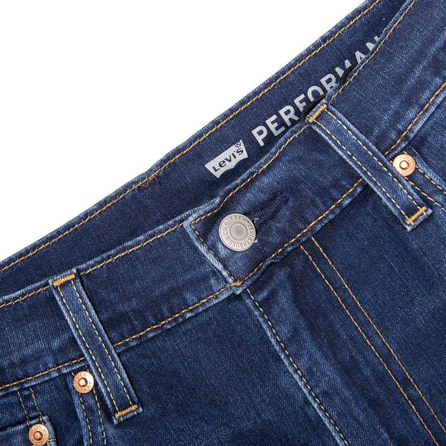 Levi's 512 Slim Taper Jeans in Dark Blue Denim