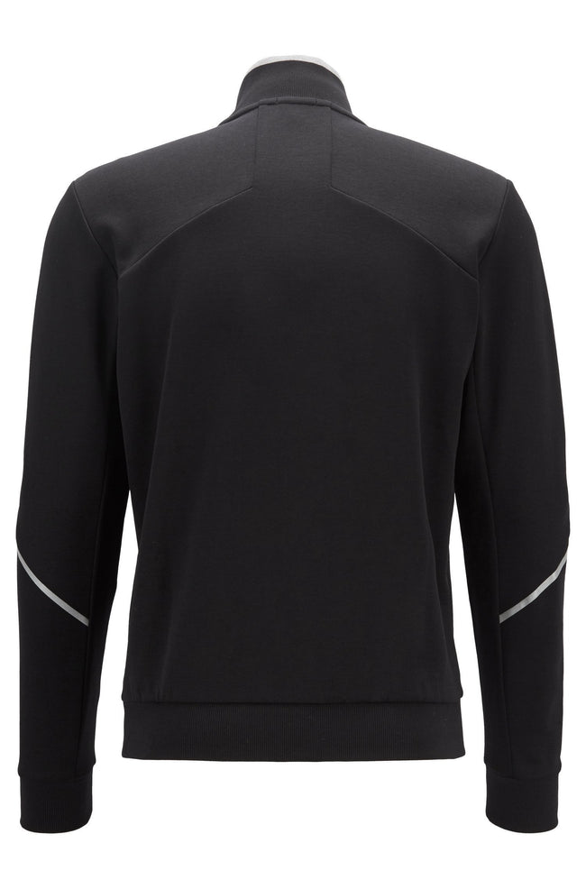 BOSS Athleisure Skaz Full Zip Sweatshirt in Black
