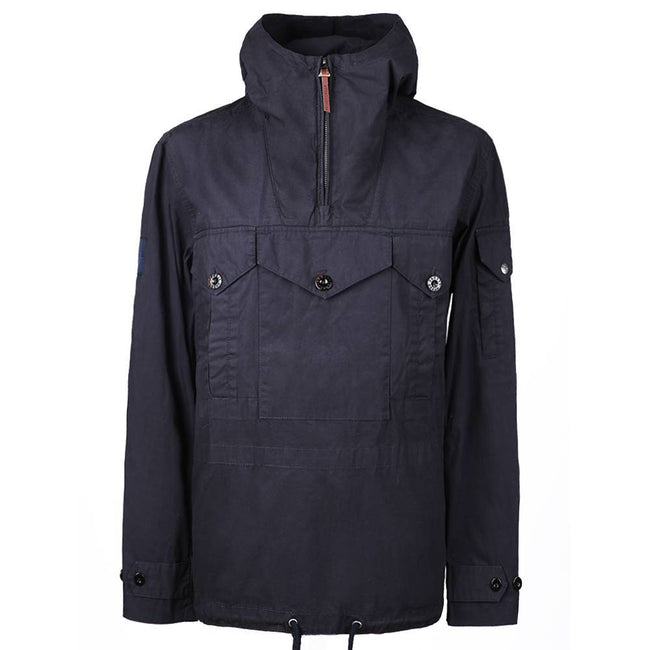 Pretty Green Overhead Pocket Detail Jacket in Navy