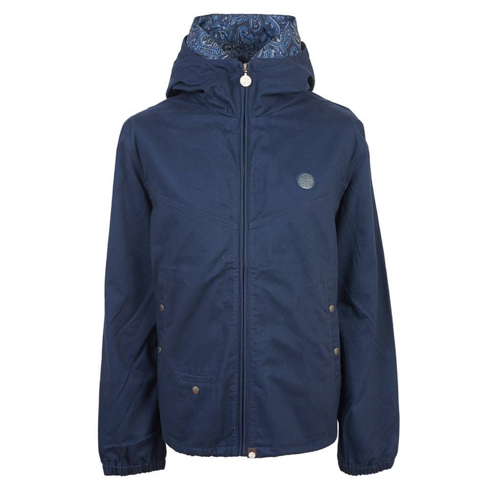 Pretty Green Beckford Hooded Jacket in Navy