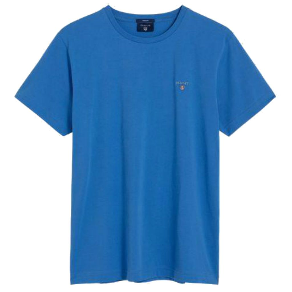Gant The Original SS T-Shirt in Palace Blue